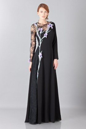Lace embroidered dress - Nina Ricci - Sale Drexcode - 2