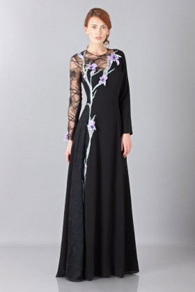 Lace embroidered dress - Nina Ricci - Rent Drexcode - 1