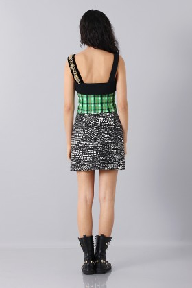 Patterned strap dress - Fausto Puglisi - Sale Drexcode - 2