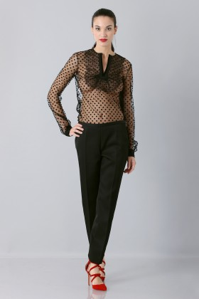 Plumetis shirt - Rochas - Rent Drexcode - 2