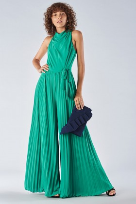 Jumpsuit with pleated leg - Halston - Rent Drexcode - 1