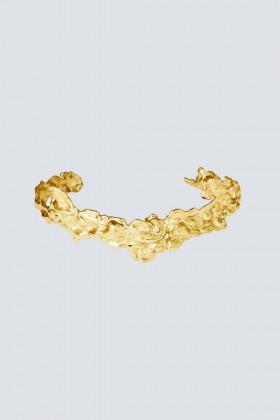 Gold lava effect bracelet - Noshi - Sale Drexcode - 1