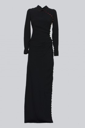 Long dress with colorful buttons - Marco de Vincenzo - Rent Drexcode - 1