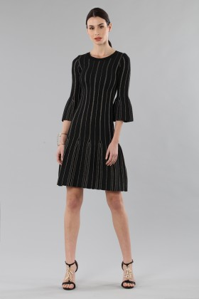 Knitted dress with golden threads - MICHAEL - Michael Kors - Rent Drexcode - 2