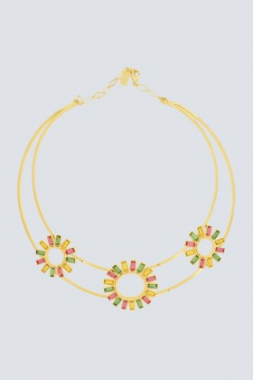Necklace with flowers  - Natama - Rent Drexcode - 1