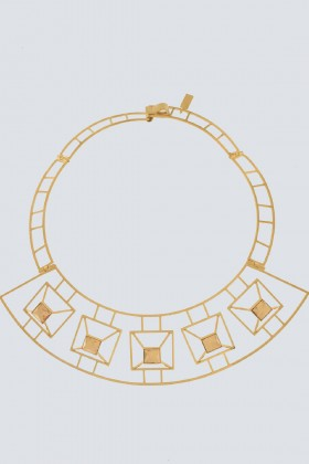 Geometric rigid necklace  - Natama - Rent Drexcode - 1