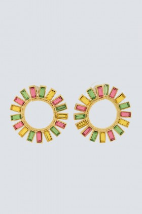Multi-colored earrings - Natama - Rent Drexcode - 1