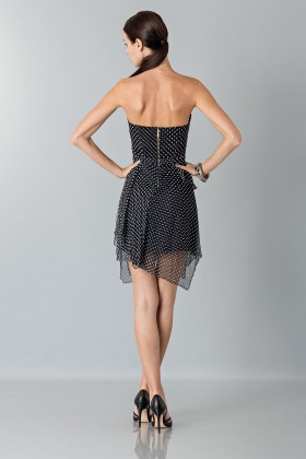 Bustier dress with polka dots - Blumarine - Rent Drexcode - 2