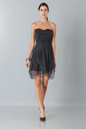 Bustier dress with polka dots - Blumarine - Rent Drexcode - 1