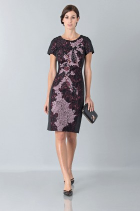 Embroidered floral dress - Antonio Marras - Sale Drexcode - 1