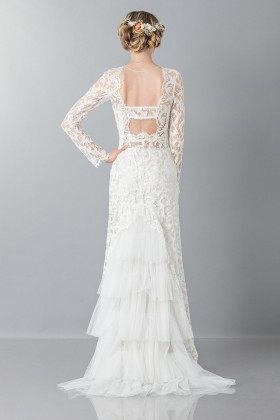 Lace wedding dress - Alberta Ferretti - Rent Drexcode - 2