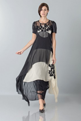 Layered sheer gown - Antonio Marras - Sale Drexcode - 1