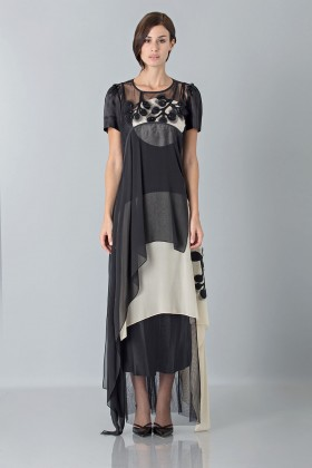 Layered sheer gown - Antonio Marras - Sale Drexcode - 2