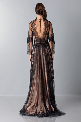 Long dress with lace decorations - Alberta Ferretti - Sale Drexcode - 2