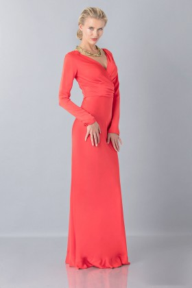 Floor-length dress with deep neck - Vionnet - Sale Drexcode - 2
