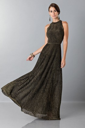 Dress with gold textures - Vionnet - Sale Drexcode - 1