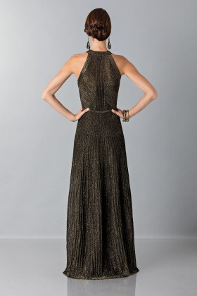 Dress with gold textures - Vionnet - Sale Drexcode - 2