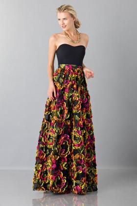Skirt with floral appliquè - Blumarine - Rent Drexcode - 1