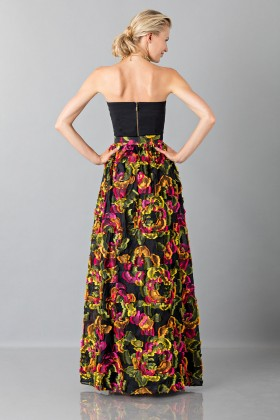 Skirt with floral appliquè - Blumarine - Sale Drexcode - 2