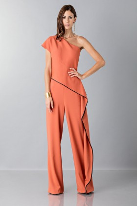 Jumpsuit with side drape - Vionnet - Sale Drexcode - 1