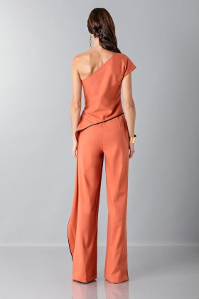 Jumpsuit with side drape - Vionnet - Sale Drexcode - 2