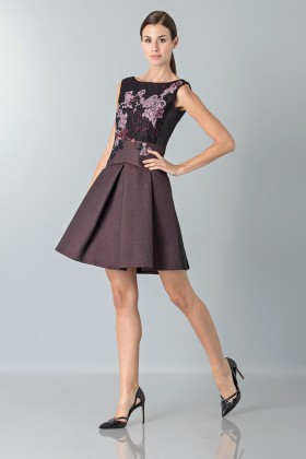 Floral embroidered mini dress - Antonio Marras - Sale Drexcode - 2