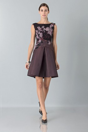 Floral embroidered mini dress - Antonio Marras - Rent Drexcode - 1
