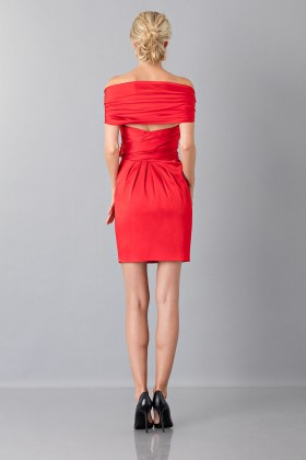 Satin minidress - Moschino - Sale Drexcode - 2
