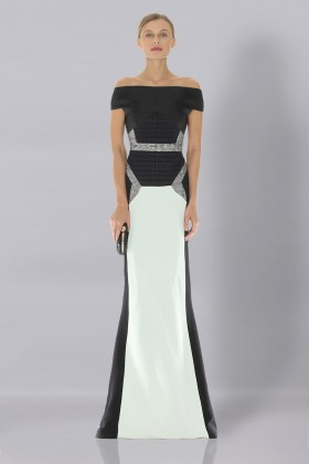 Long off-shoulder dress - Antonio Berardi - Rent Drexcode - 1