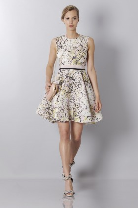 Printed silk dress - Giambattista Valli - Sale Drexcode - 1