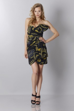 Dress with bow - Moschino - Sale Drexcode - 1