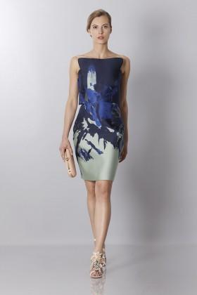 Asymmetrical bustier with floreal printing - Antonio Berardi - Sale Drexcode - 1