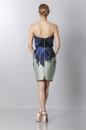 Asymmetrical bustier with floreal printing - Antonio Berardi - Rent Drexcode - 2