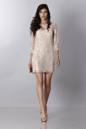 Embroidered short dress - Blumarine - Rent Drexcode - 1