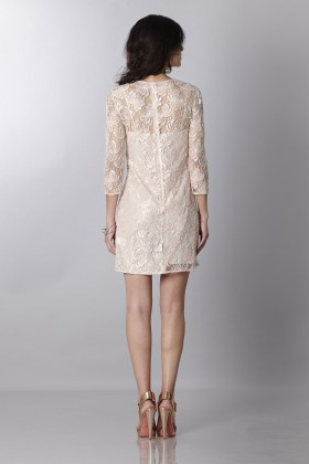Short dress with decorations - Blumarine - Sale Drexcode - 2