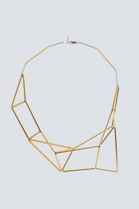 Gold jointed necklace - Noshi - Rent Drexcode - 1