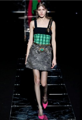 Patterned strap dress - Fausto Puglisi - Rent Drexcode - 1