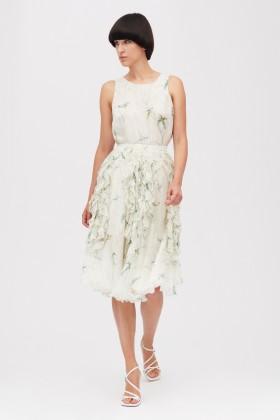 Embroidered silk dress - Rochas - Rent Drexcode - 2