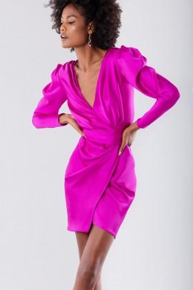 Short fuchsia dress - Rhea Costa - Rent Drexcode - 2
