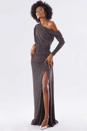 Long glitter dress - Rhea Costa - Rent Drexcode - 1