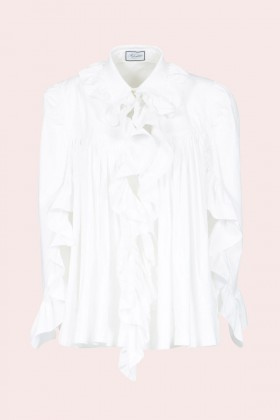 Camicia in cotone con rouches - Redemption - Rent Drexcode - 1
