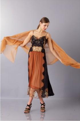 Silk stole - Alberta Ferretti - Rent Drexcode - 1