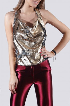 Top in paillettes reversibili - DREX for you - Rent Drexcode - 1