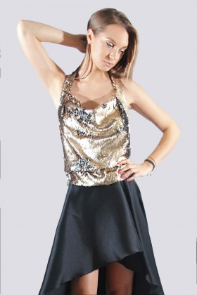 Top in paillettes reversibili - DREX for you - Rent Drexcode - 2