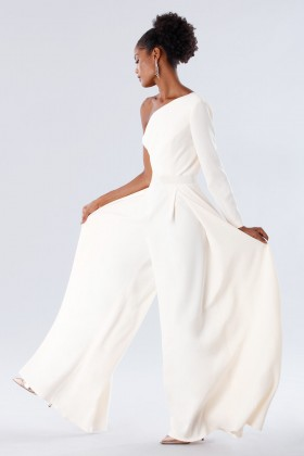 Jumpsuit white - Tot-Hom - Rent Drexcode - 2