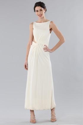 Long draped silk dress - Vionnet - Rent Drexcode - 1