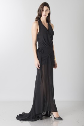Dress with neck fastening - Vivienne Westwood - Sale Drexcode - 2