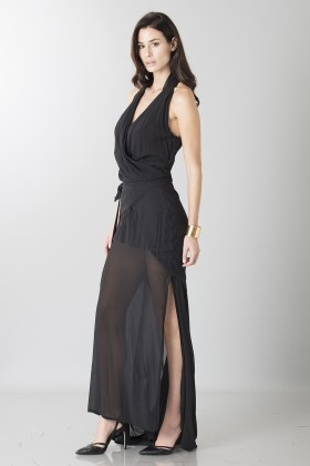 Dress with neck fastening - Vivienne Westwood - Sale Drexcode - 1