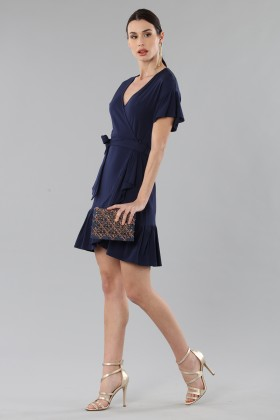 Mini wrap dress with ruffles - MICHAEL - Michael Kors - Sale Drexcode - 2
