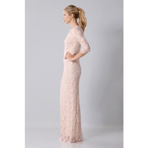 Vendita Abbigliamento Usato FIrmato - Long dress with sequin sale - Blumarine - Drexcode -3